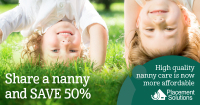 Five ways to make nanny sharing work