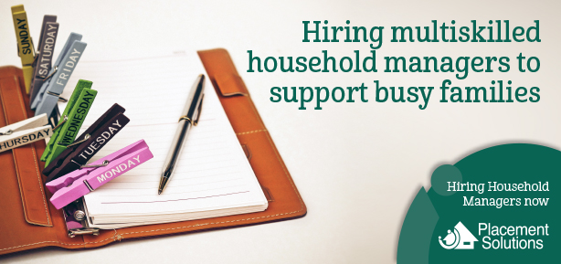 Household Manager Recruitment image