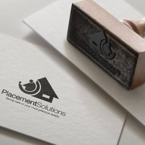 Placement Solutions ink stamp